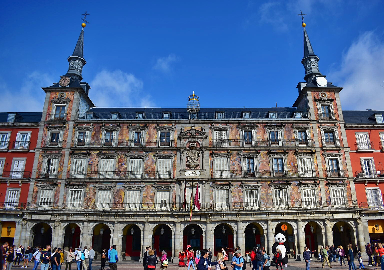 Plaza Major in Madrid